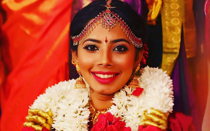 wedding makeup artist in thiruvottiyur