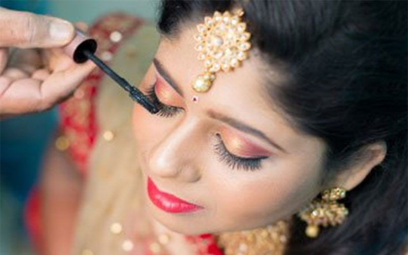 wedding makeup artist in villivakkam